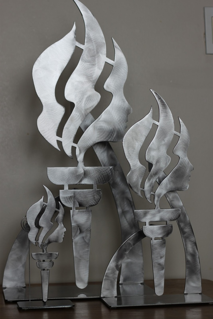 Torch Statue - coolest ever!