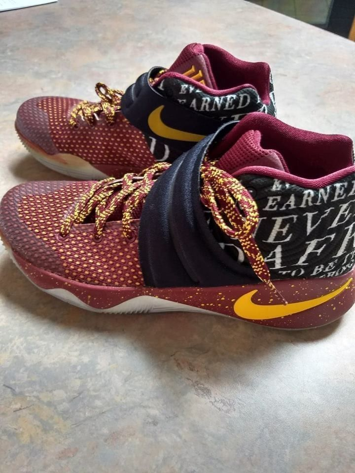 online store feda0 30941 Custom J.BY. Kyrie Irving Shoes Men's Size 9. EXCELLENT ...