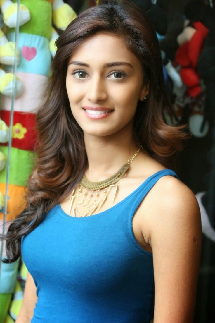 Kannada Actress Erica Fernandaz In Tight Blue Sleeveless -2720
