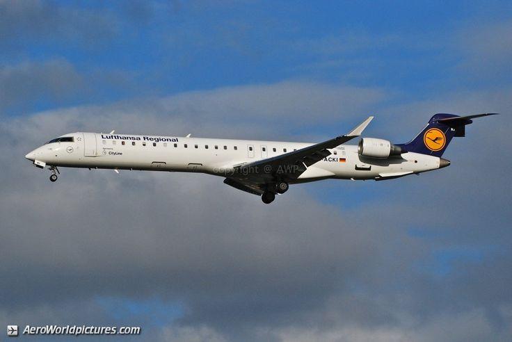 DSC_0027 Lufthansa Regional (Lufthansa CityLine) Canadair CL-600-2D24 Regional Jet CRJ-900LR D-ACKI (cn 15088) Partager sur