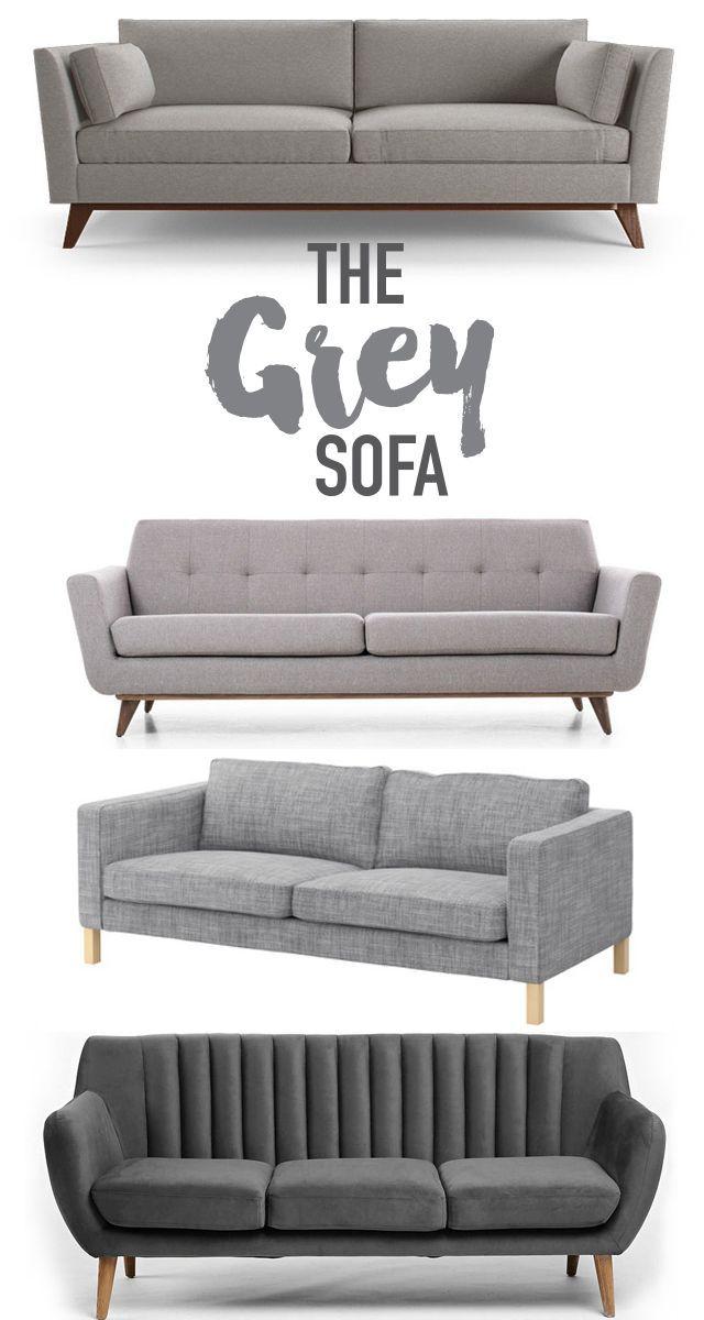 Reasons why you should buy a grey sofa. @visualheart www.visualheart.com