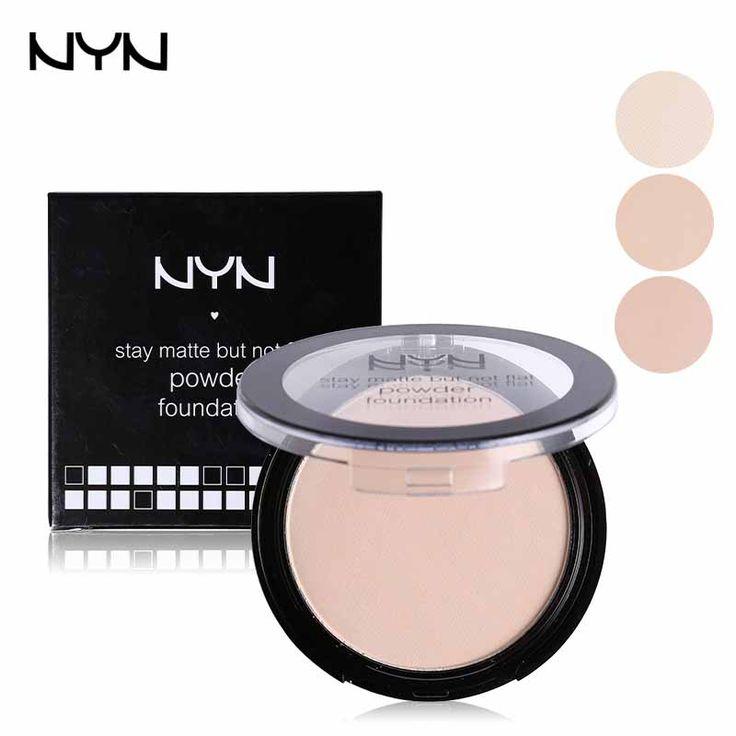 NYN Profesional Bedak Tahan Air bebas Minyak Bedak padat Dasar Kosmetik Concealer Contour Palette Mineral Makeup