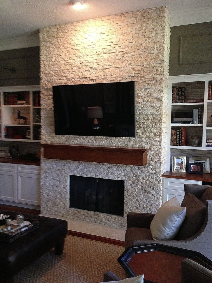 Your fireplace wall 39 s finish consider this important for Unique interior wall finishes
