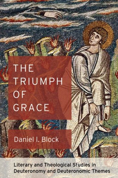 The Triumph of Grace (Literary and Theological Studies in Deuteronomy and Deuteronomic Themes; BY Daniel I. Block; Imprint: Cascade Books). The Apostle Paul's negative statements about the law have deafened the ears of many to the grace that Moses proclaims in Deuteronomy. Most Christians have a dim view of this book, which they consider to be primarily a book of laws. However, when we read or hear it read orally without prejudice, we discover that rather than casting Moses as a…