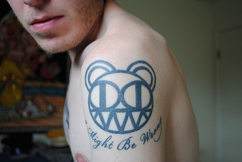 45 best images about radiohead tattoos on pinterest radiohead artworks and radiohead tattoo. Black Bedroom Furniture Sets. Home Design Ideas