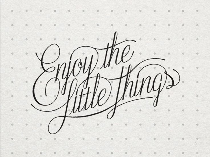 Enjoy The Little Things_FINAL by Bob Ewing