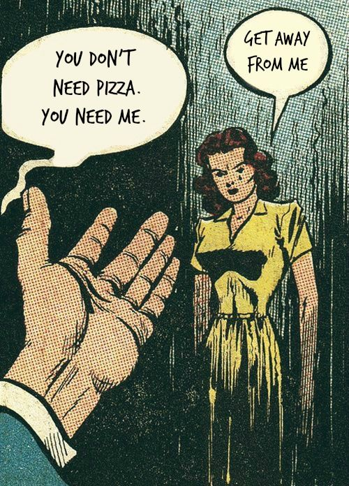 Everyone needs pizza