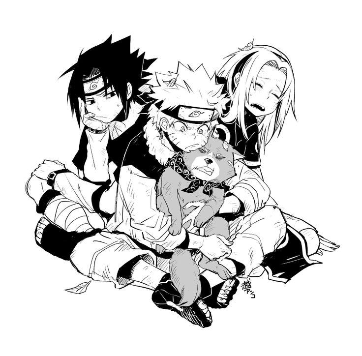 Tags: Fanart, NARUTO, Haruno Sakura, Uzumaki Naruto, Uchiha Sasuke, Pixiv, Team 7, Fanart From Pixiv, Pixiv Id 903594