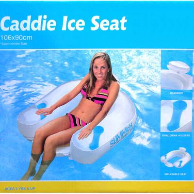 Outdoor Inflatable Air Float Seat Chair Sofa Chair