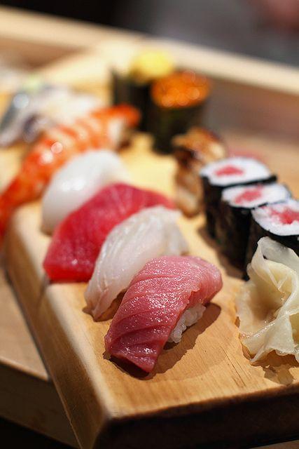 Sushi!! Always good!