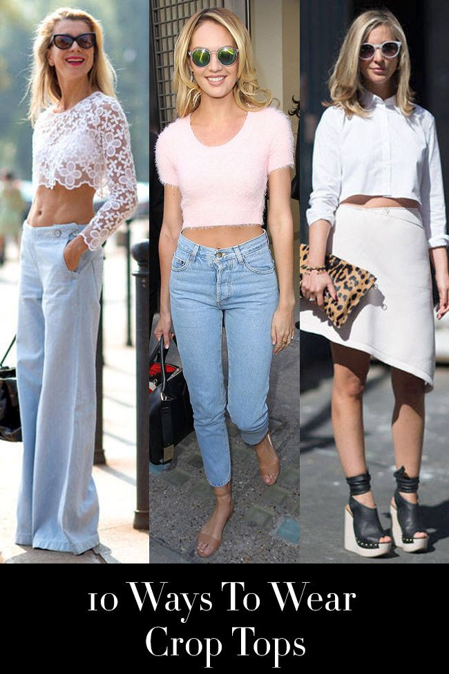 Your ultimate how-to guide to wearing a crop top this summer.