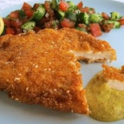 how to cook healthy pork schnitzel