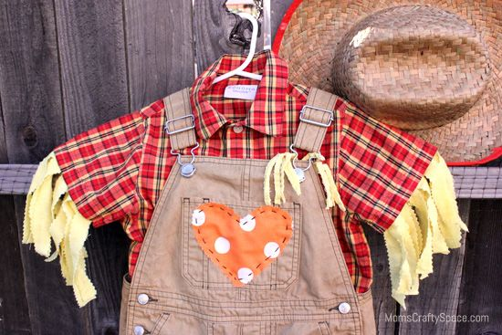 Mom's Crafty Space: DIY Toddler Scarecrow Costume With RIT Dye