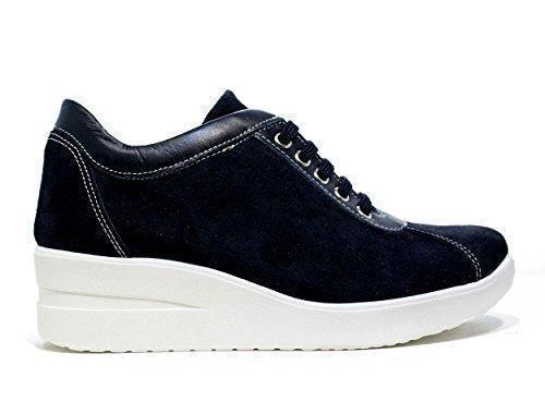 Oferta: 79€. Comprar Ofertas de ONLY I AMOSCIO agujero azul Zapatos de mujer zapatillas de deporte cuñas, NUEVA COLECCIÓN PRIMAVERA VERANO 2016 Blue Suede barato. ¡Mira las ofertas!