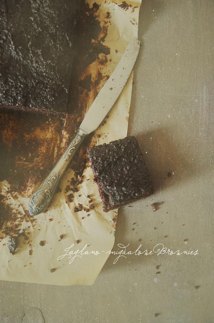 millet almond brownie