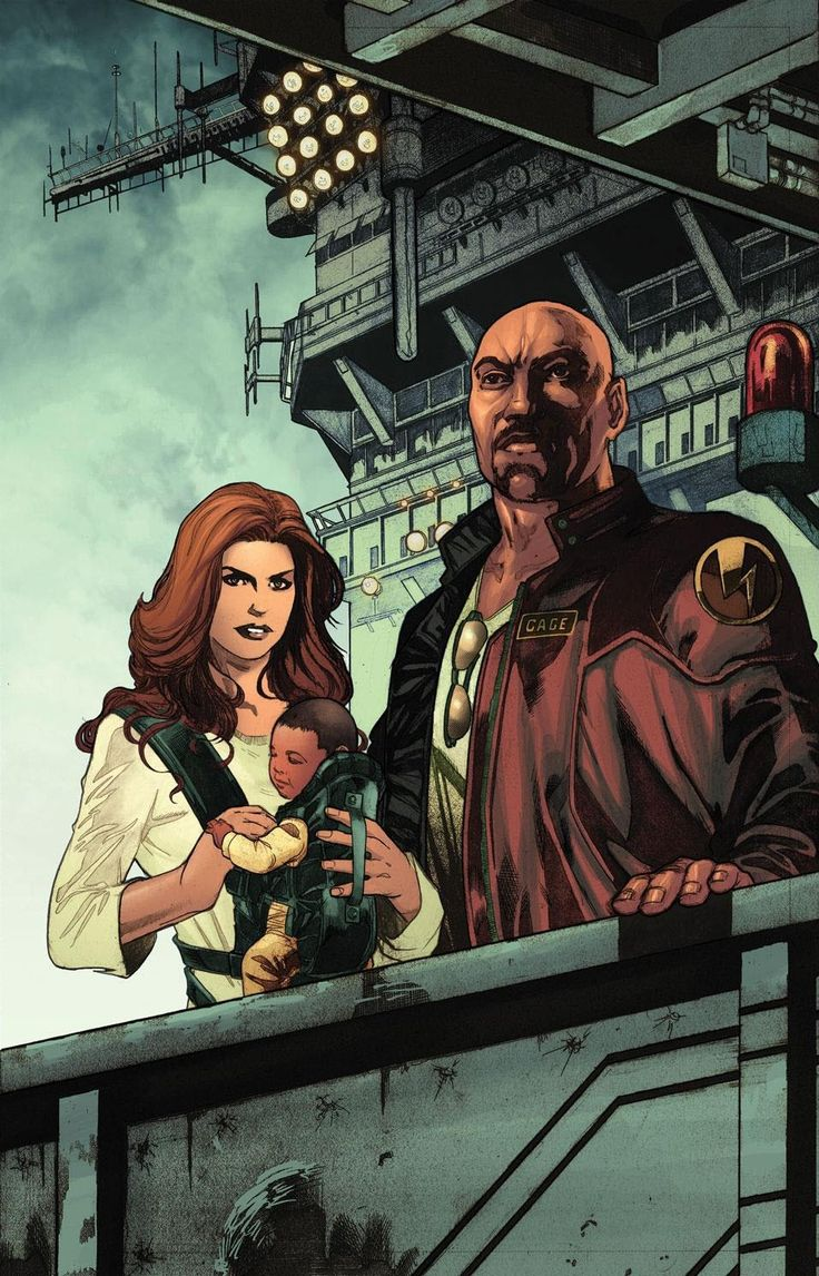 Luke Cage and Jessica Jones - Miguel Sepulveda