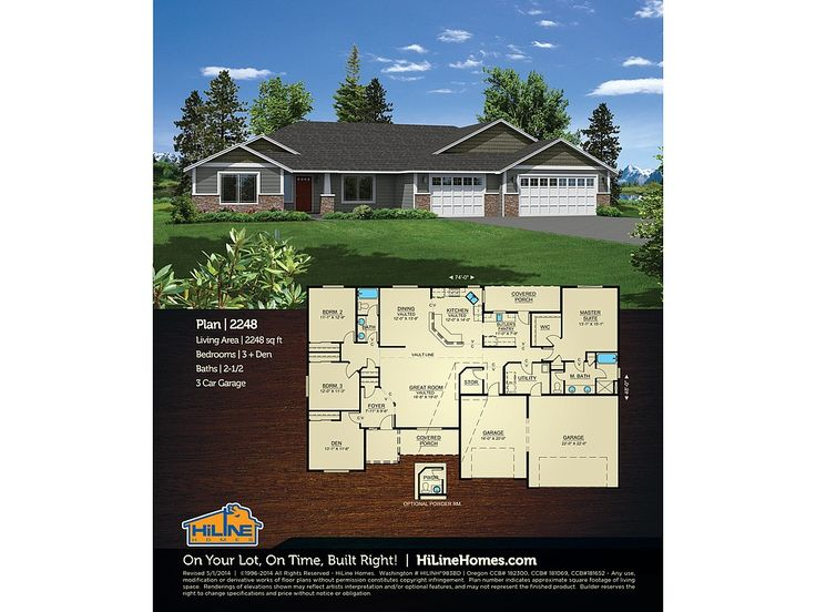 17 best images about house plans on pinterest craftsman for Hiline homes plans