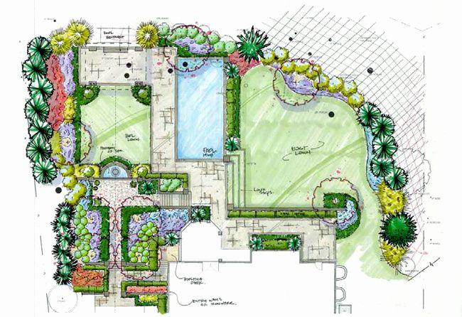 Landscape Plan Drawing Landscape Design Drawings Landscape