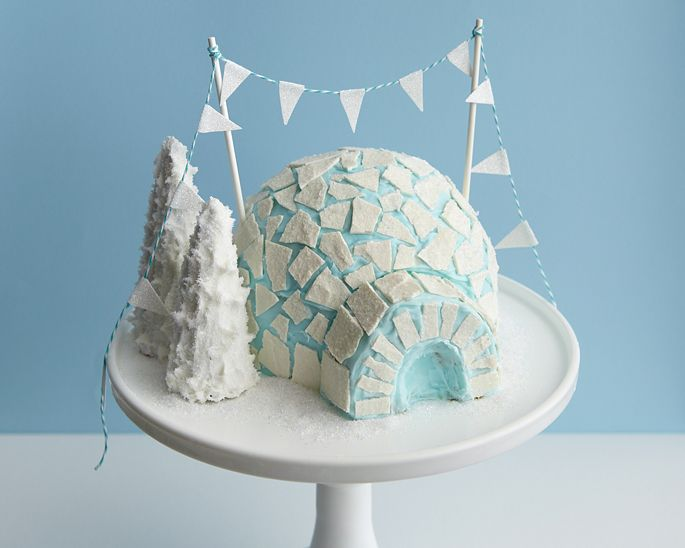 How to Make an Igloo Cake • CakeJournal.comWinter, Cakegirls, Food, Cake Blog, Christmas, Cake Decor, Igloo Cake, Cake Tutorials, Diy Igloo