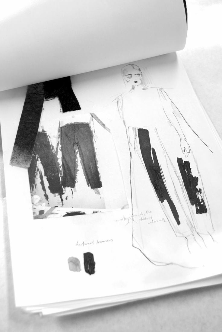 Fashion Sketchbook - tailoring development; fashion design sketches; fashion portfolio // Alexandra Baldwin