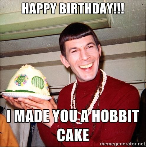 86cddd6cda5f45860b9a218583b5e375 birthday memes spock 106 best laughter, the best medicine images on pinterest funny