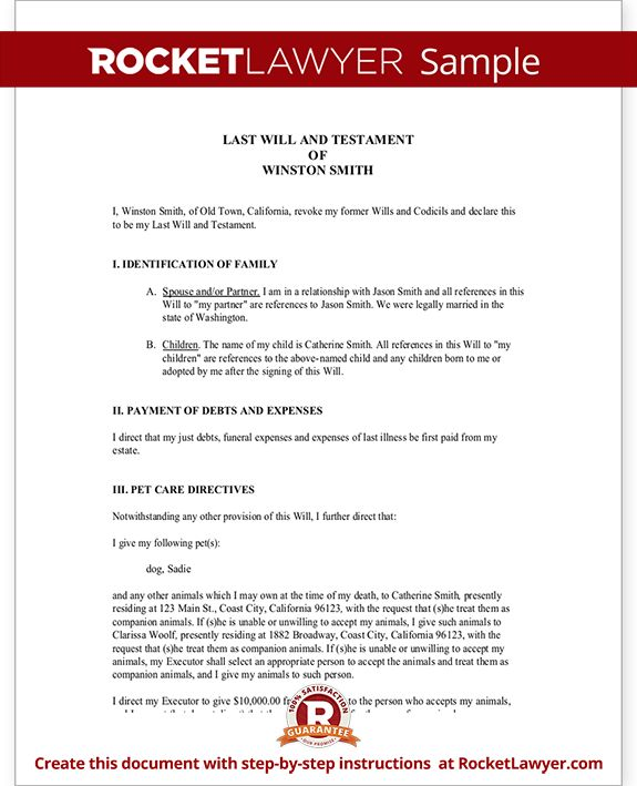 last wills and testaments free templates - 17 best ideas about will and testament on pinterest mr