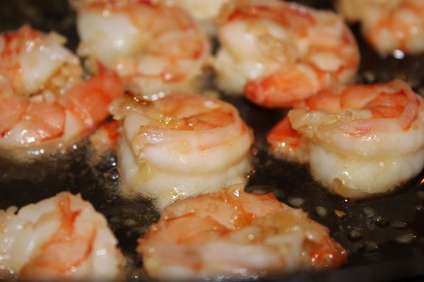 I decided tonight I was going to make my husband some shrimp as a side with our already, feast, of a dinner. I bought Black tiger jumbo shrimp – which were already De-veined, but not peeled. Now l…
