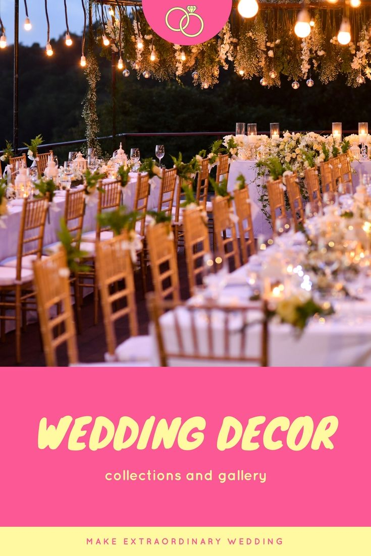 Redecorate Your Wedding Reception With These Latest, Cheap Wedding ...