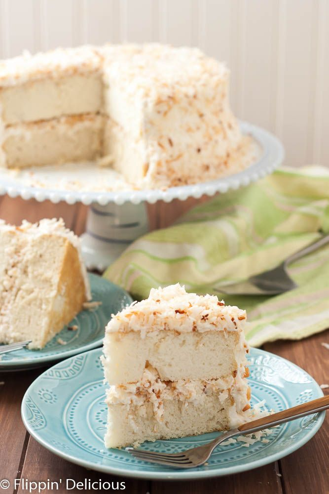 Coconut Layer Cake is a stunning spring dessert. The toasted coconut ...