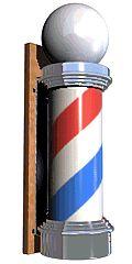 Enseigne de barbier — Wikipédia