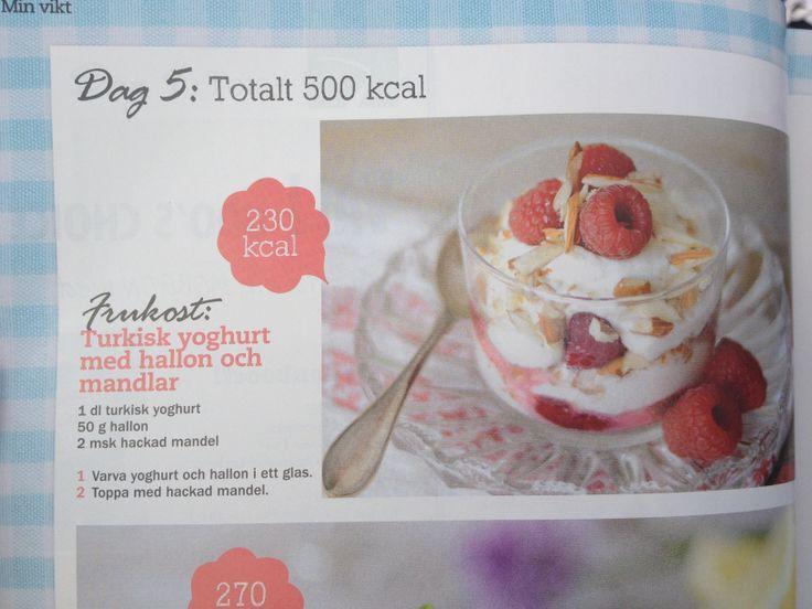 Yoghurt med hallon