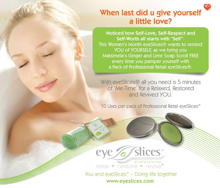 Receive a free Matsimela Ginger and Lime Soap Scroll with every purchase of eyeSlices Professional Retail Pack.