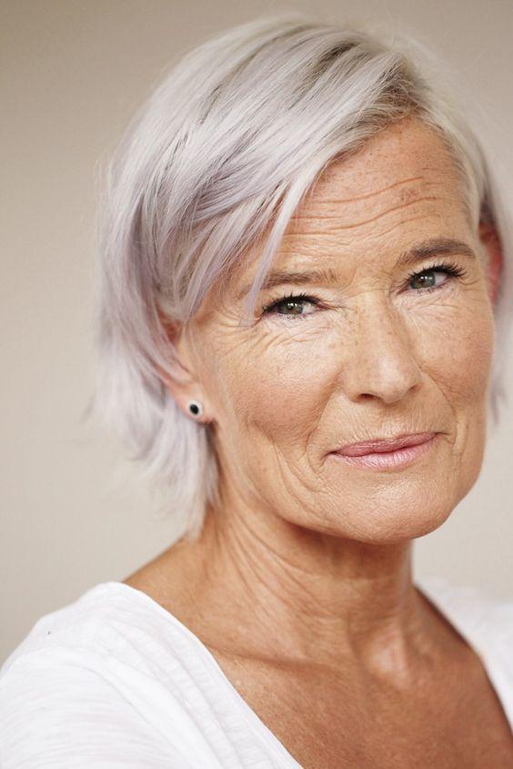 Deze 11 kapsels zijn erg mooi voor de oudere dame! - Kapsels voor haar