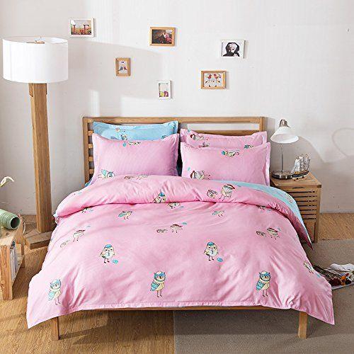 Cute Animal Fashion Design Kids Bedding Sets 4pcs Bed sheet Duvet Cov... https://www.amazon.com/dp/B06Y5D725H/ref=cm_sw_r_pi_dp_x_pjB7ybBVHDZP7