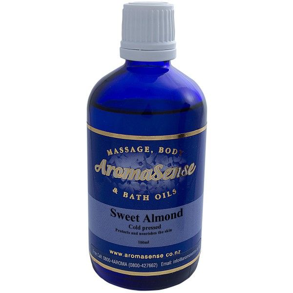 Sweet Almond Body Oil 1
