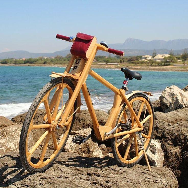 Team Panagi, it's coming back..  #g_p_bicycles #woodenbicycles #woodenbike