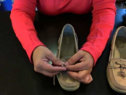 How to tie Celtic Knot for Sperry Angelfish Boat Shoes