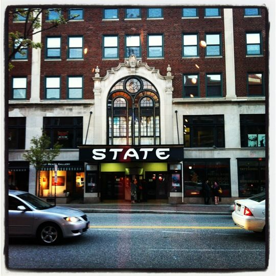 The State Theatre Is A Historic Theater Located At 609 Congress Street In Downtown  Portland,