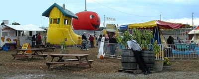 Fall family festival at Southbrook Pumpkin Patch and Country Store, Richmond Hill, Ontario.