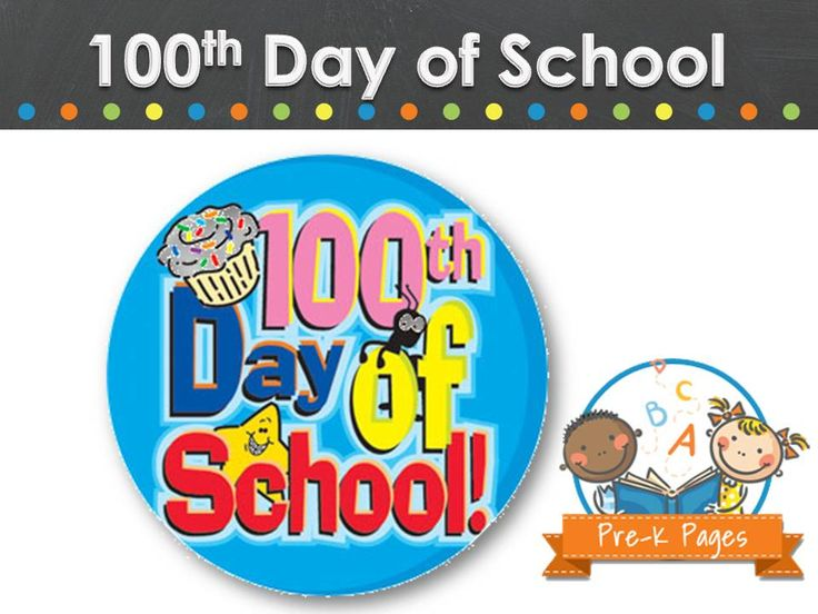 Ideas and activities to celebrate the 100th day of school in your preschool, pre-k, or kindergarten classroom.