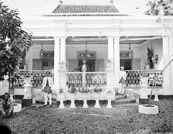 Huis van een Arabisch hoofd, Pekalongan, Oost-Java