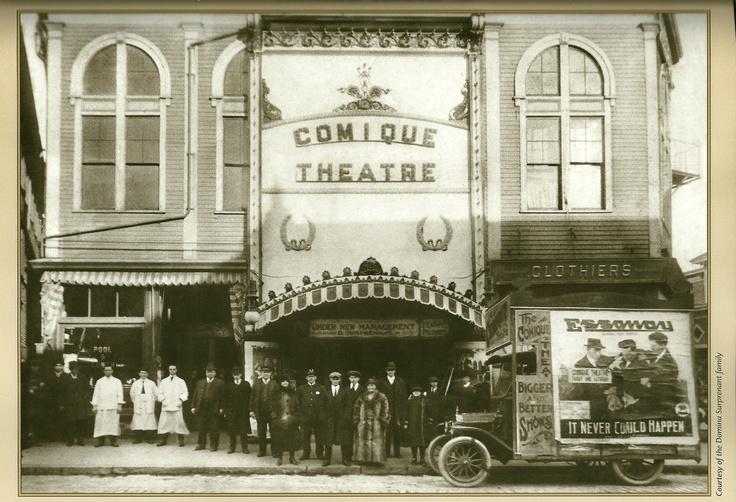 Theatre Comique, New Bedford, Massachusetts, 1920