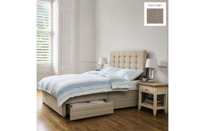 Laura Ashley Dove Grey Bed & Mattress