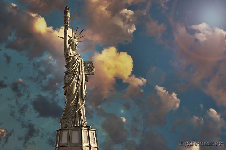 Statue of Libery replica Seattle Alki Beach