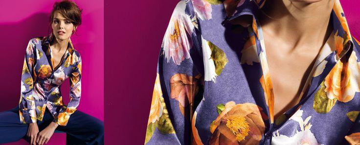 Camicia fantasia floreale NaraCamicie catalogo autunno inverno 2013 2014