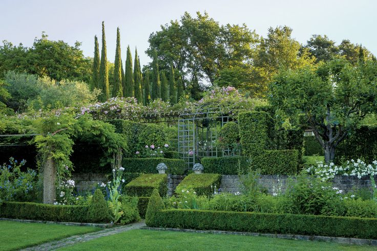 201 best Italian Style Gardens and Architecture images on ...