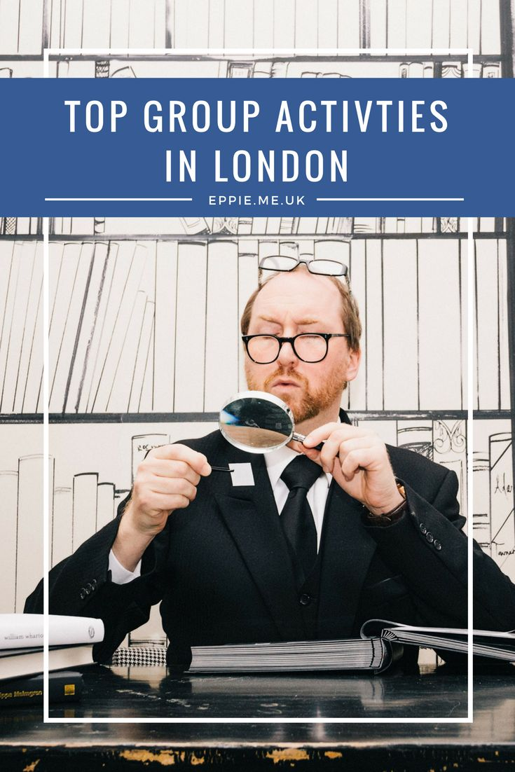 Top group activities in London | Things to do | Quirky | Fun | Creative | Escape the room | Team building