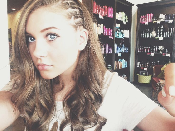 Hairstyles Braids On The Side: Side Cornrows
