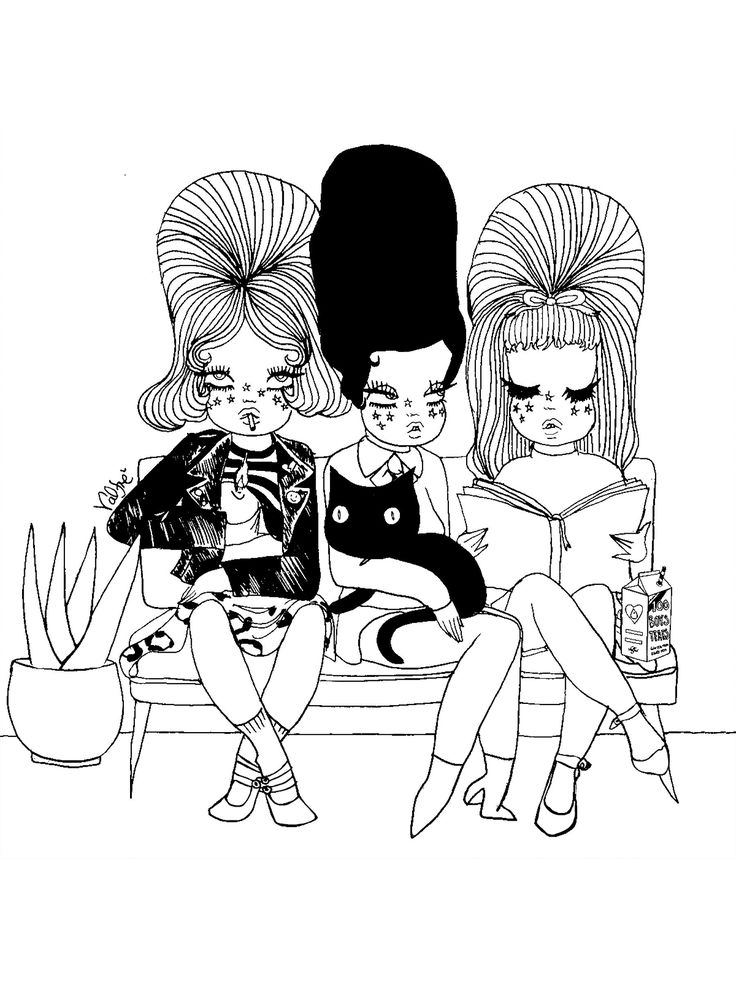Waiting room valfre coloring page | Coloring pages, Adult ...