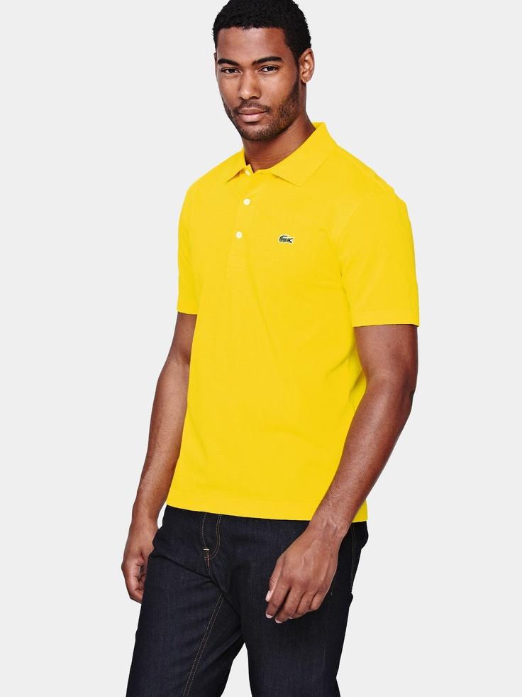 LacosteMens Plain Polo Shirt
